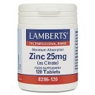 ZINC 25mg (as Citrate) (120 Tablets)